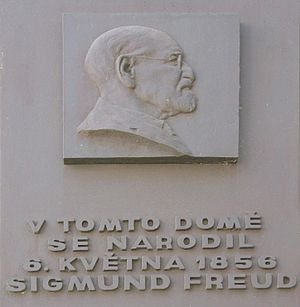 Memorial dedicated to Freud