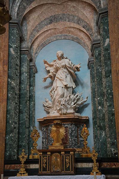 File:St Agnese in Agone Rome interior 02.jpg