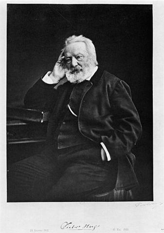 Portrait de Victor Hugo par Félix Nadar