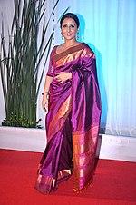 150px Vidya Balan at Esha Deol%27s wedding reception 09 Fancy Blouse For Wedding