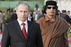 TRIPOLI. With leader of the Libyan Revolution ...