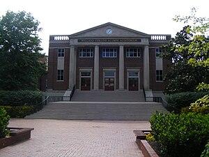 English: Lipscomb University in Nashville, Ten...
