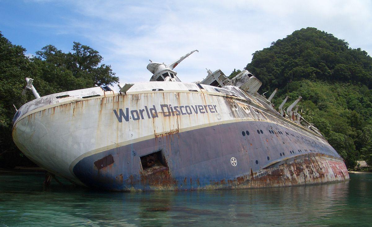 MS World Discoverer Wikipedia