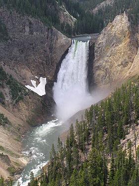 Hẻm núi lớn của Yellowstone