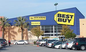 A typical Best Buy store at the Ravenswood 101...