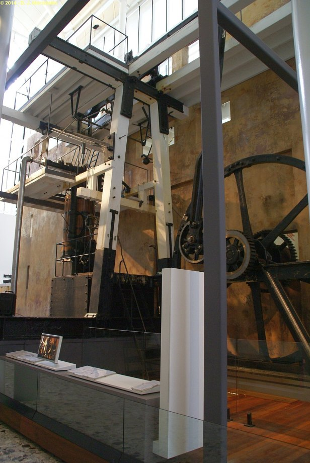 Boulton & Watt steam engine, Sydney Powerhouse Museum, 2014 (15860993251)
