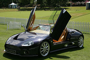 (Broughtons) Spyker at Salon Prive, London. Ph...