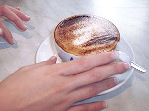 English: Cappuccino.