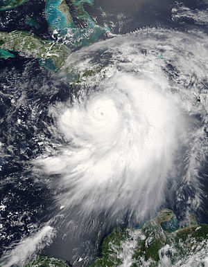 Hurricane Dennis on July 7 2005