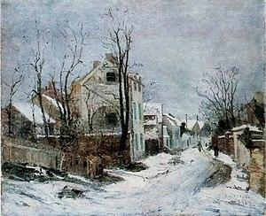 Iarna la Barbizon