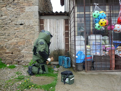 Kosovo Police Bomb disposal
