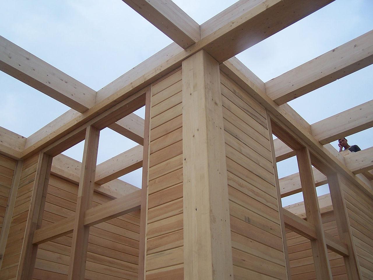 fabriquer une pergola en bois