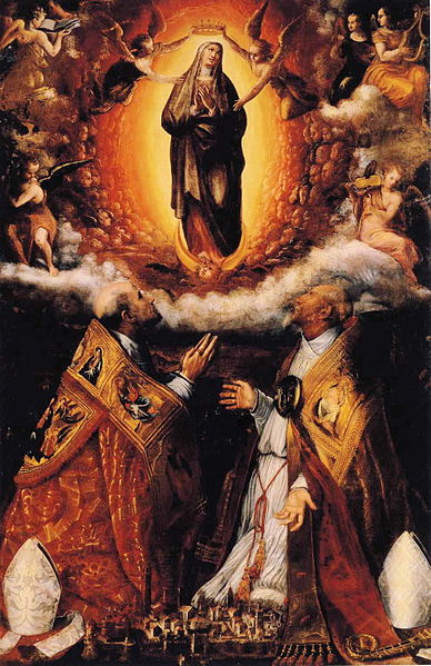 File:Lavinia Fontana - Assumption of the Virgin.JPG