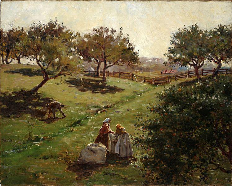 File:Luther Emerson van Gorder - Apple orchard.jpg