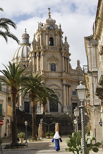 English: Cathedral of San Giorgio in Ragusa Ibla.