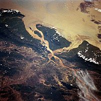 Salween River Delta, October 1994