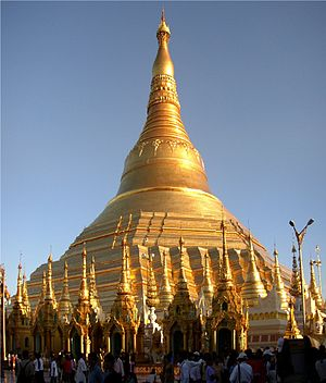 Shwedagon Pagoda :Author: Ralf-André Lettau :D...