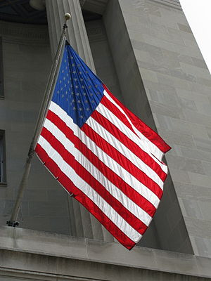 English: Flag of the United States of America....