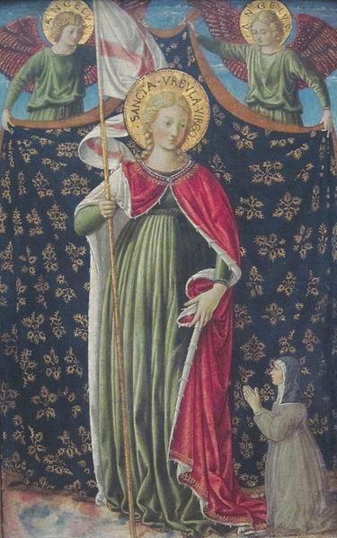 Saint Ursula, by Benozzo Gozzoli