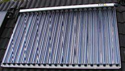 Coletor Solar de Tubo à Vácuo