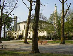 Bruxelles (Cinquantenaire) la grande Mosquée.JPG
