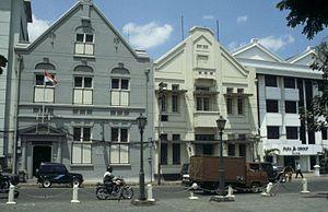 English: The Wayang Museum at Taman Fatahillah...
