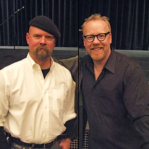 English: Jamie Hyneman & Adam Savage, from the...