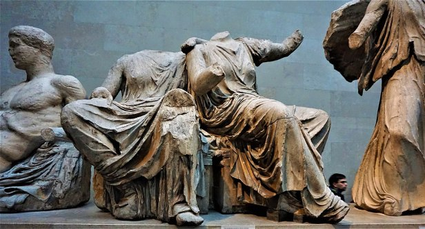 Demeter and Persephone - Pediment Sculptures of the Parthenon - British Museum - Joy of Museums 2