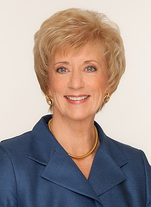 Linda McMahon, former CEO of World Wresting En...