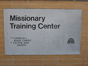 Provo Missionary Training Center entrance