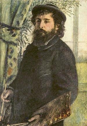 Portrait of Claude Monet, 1875, Musée d'Orsay,...