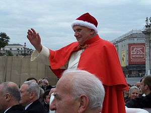 English: Pope Benedict XVI in Italy