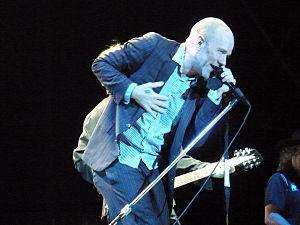 Michael Stipe, live in Naples, July 23, 2008