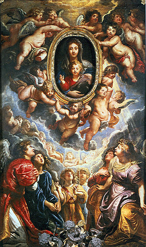 Madonna della Vallicella Peter Paul Rubens Oil...