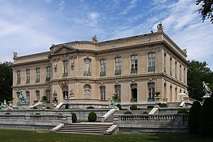 The Elms, Newport, Rhode Island. View from Gre...