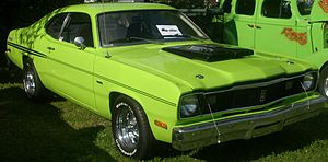 1975 Plymouth Duster photographed at the Rasse...