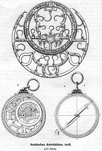 "A <a href=""http://reference.findtarget.com/search/Persia/"">Persia</a>n (<a href=""http://reference.findtarget.com/search/Iran/"">Iran</a>ian) astrolabe from 1208"