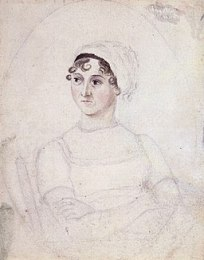 CassandraAusten-JaneAusten(c.1810) hires lebenjunge Autorin à la Christian Grawe