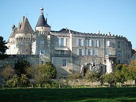château de Jonzac GR360