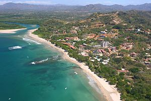 English: 2007 Costa Rica aerial photo of Playa...