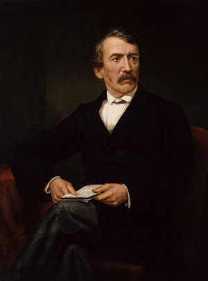 David Livingstone, by Frederick Havill, given ...