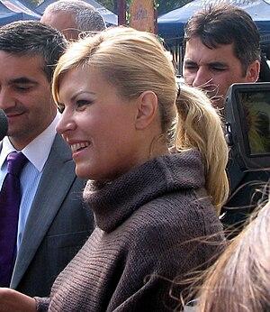 Elena Udrea, Minister of Tourism (2008-), Roma...
