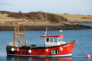 "English: Fishing boat, Ballydorn The ""John Boy..."