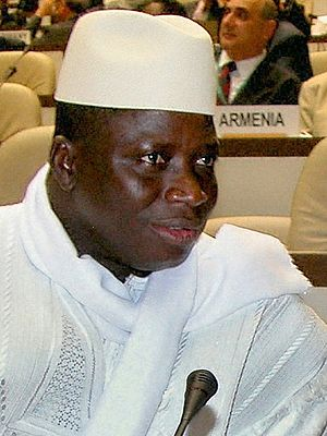 Cropped version of :Image:Gambia President Yah...