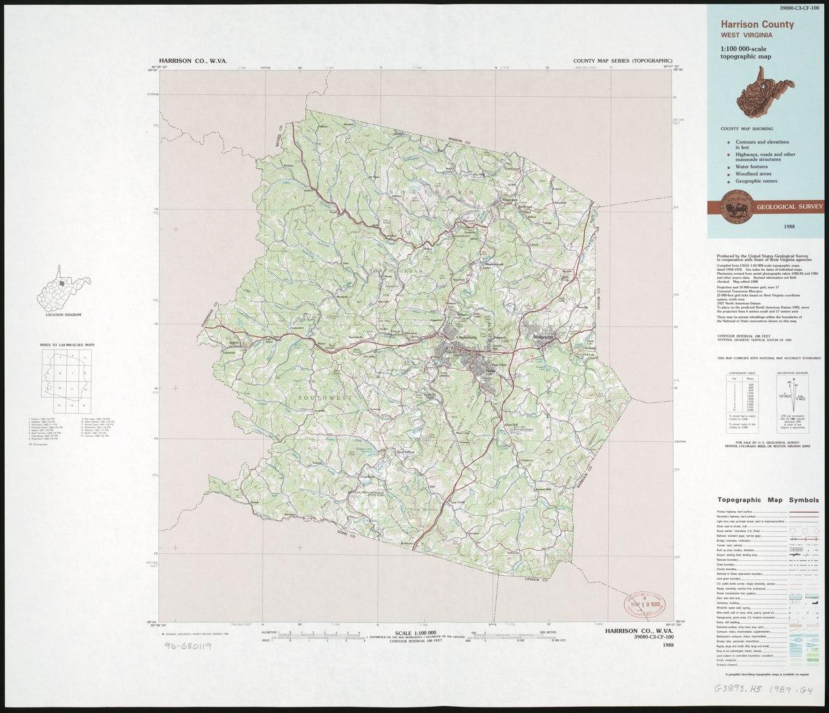 File Harrison County West Virginia