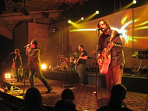Jars of Clay at Toronto, Canada.
