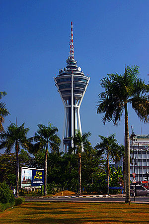 Alor Setar Tower. Menara Alor Setar is the tal...