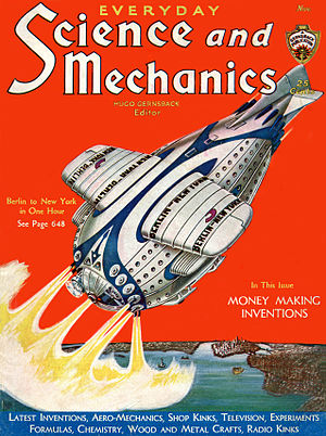 November 1931 issue of Everyday Science and Me...