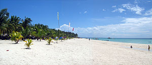 A view of Sugar Beach resort in Santa Fe, Cebu...