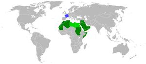 États fondateurs de l'Institut du monde arabe